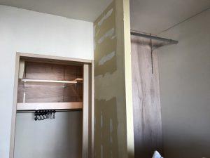 第③弾 江東区K様邸 1つの部屋を造作建具で2部屋に!可動棚設置工事